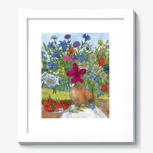 Картина «Букет полевых цветов»