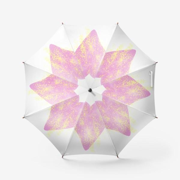 Зонт «Розовое сердце»