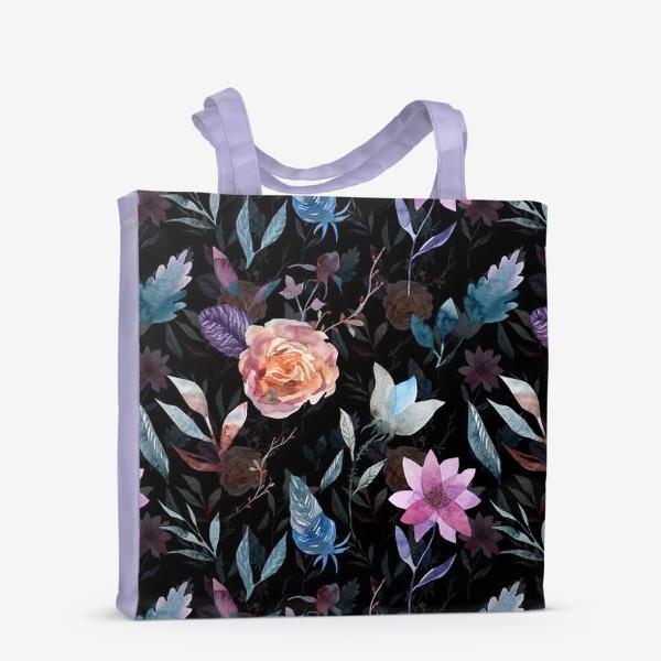 Сумка-шоппер «Night flowers»