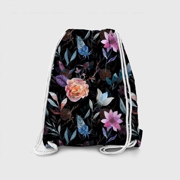 Рюкзак «Night flowers»