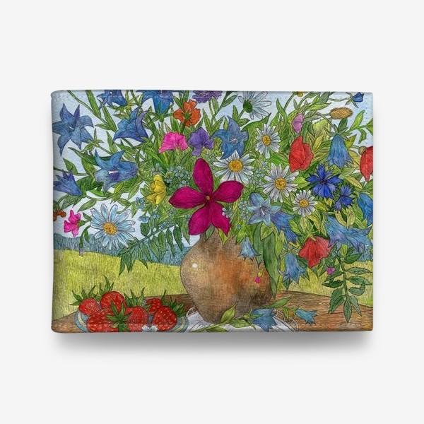 Кошелек «Букет полевых цветов»