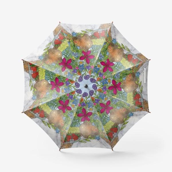 Зонт «Букет полевых цветов»