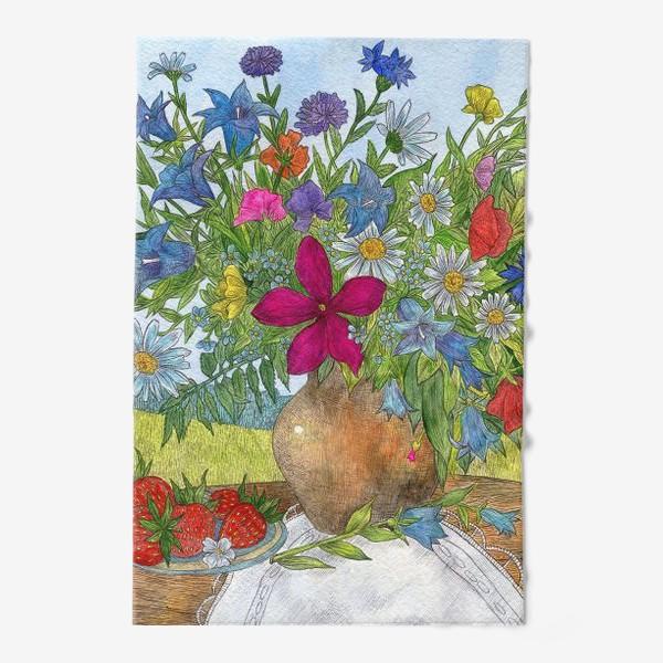 Полотенце «Букет полевых цветов»