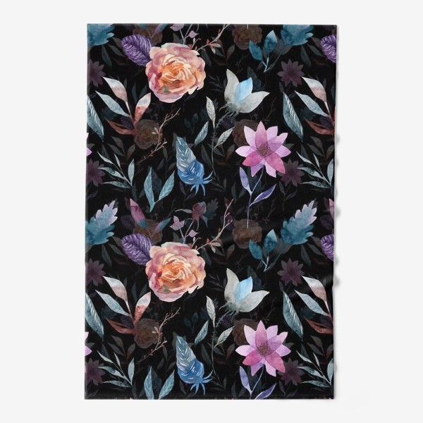Полотенце «Night flowers»