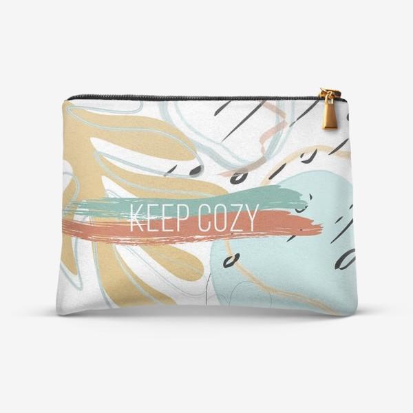 Косметичка «Keep cozy»