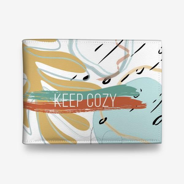 Кошелек «Keep cozy»