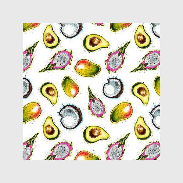 Шторы «Тропические фрукты»