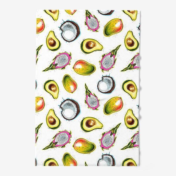 Полотенце «Тропические фрукты»