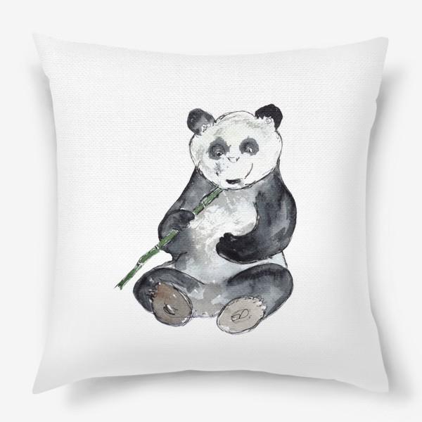 Подушка «Панда. Улыбнись.»