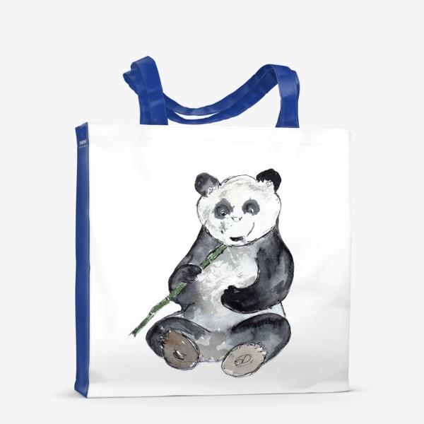 Сумка-шоппер «Панда. Улыбнись.»
