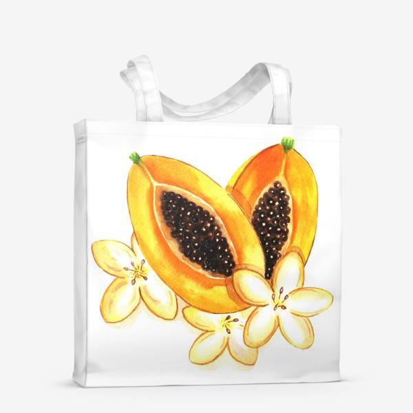 Сумка-шоппер «Нежная папайя»