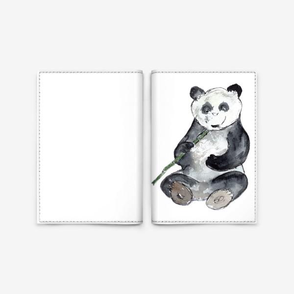 Обложка для паспорта «Панда. Улыбнись.»