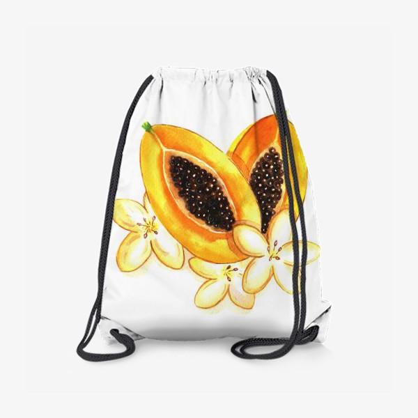 Рюкзак «Нежная папайя»