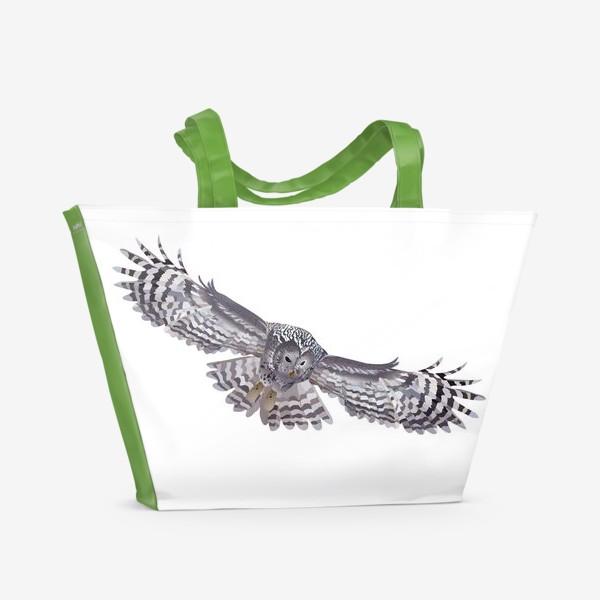 Пляжная сумка «Сова.»