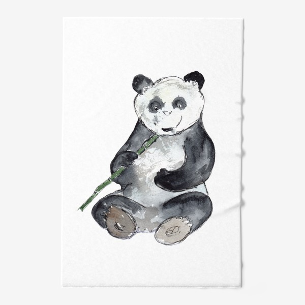 Полотенце «Панда. Улыбнись.»