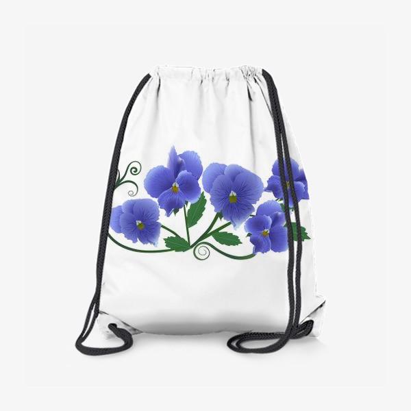 Рюкзак «Цветочки.»