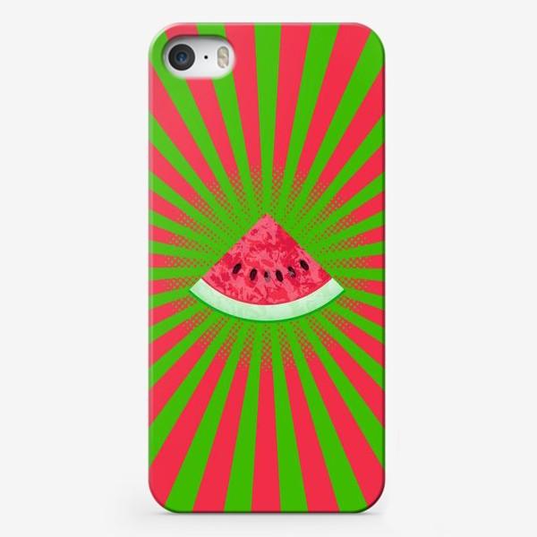 Чехол iPhone «Арбузное лето»