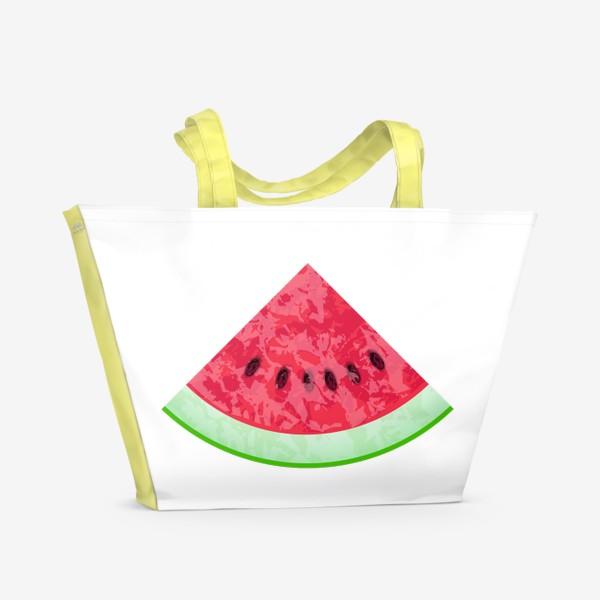 Пляжная сумка «Арбузик»
