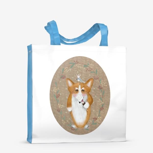 Сумка-шоппер «любитель эскимо»