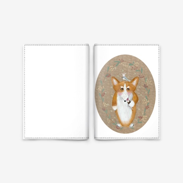 Обложка для паспорта «любитель эскимо»