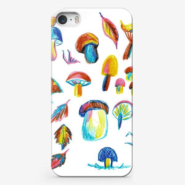 Чехол iPhone «Грибная история»