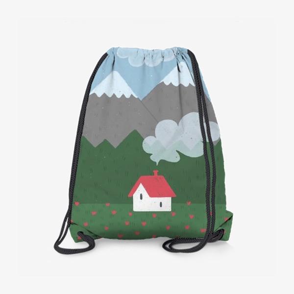 Рюкзак «Милый домик. День.»