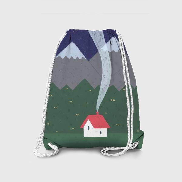 Рюкзак «Милый домик. Ночь.»