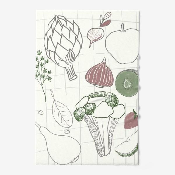 Полотенце «Овощи и фрукты»