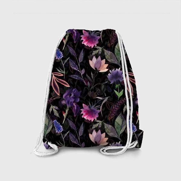 Рюкзак «Flower pattern. Black»