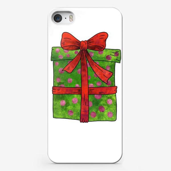 Чехол iPhone «Коробка с подарком»
