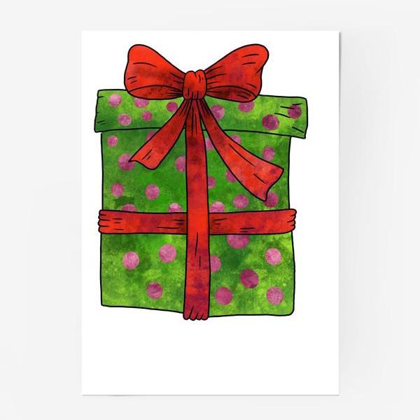 Постер «Коробка с подарком»