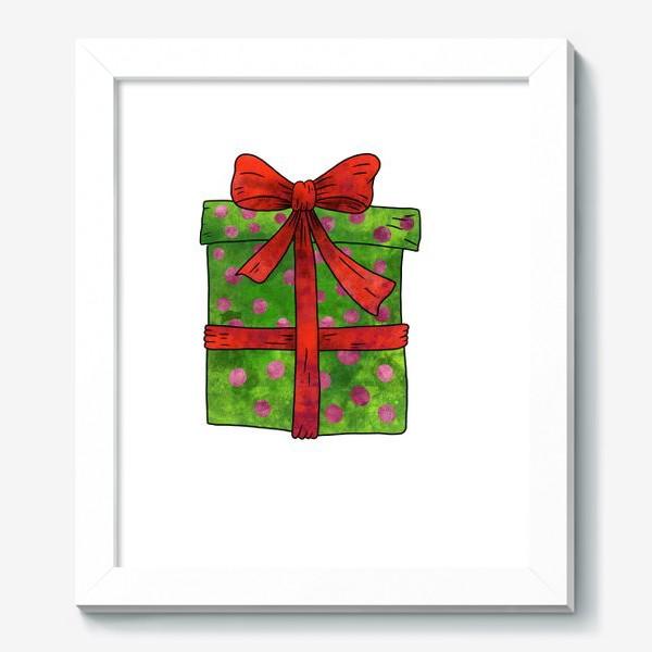 Картина «Коробка с подарком»