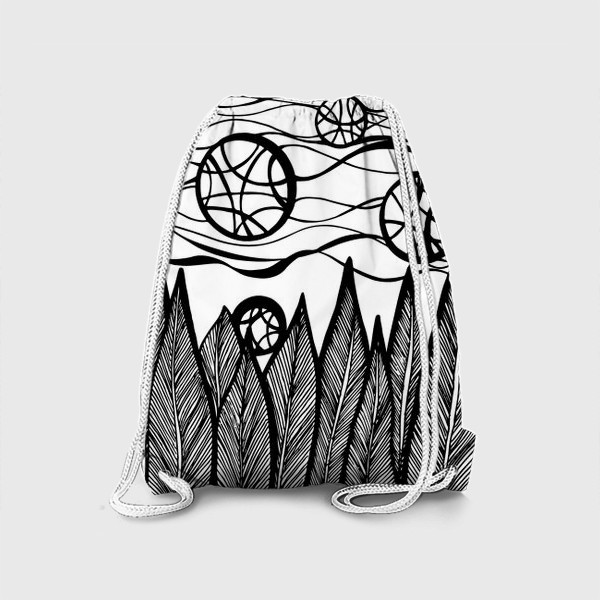 Рюкзак «Космический лес»