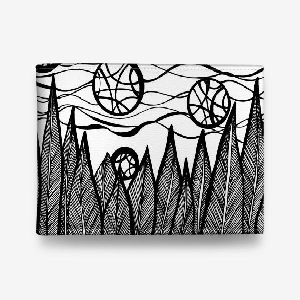 Кошелек «Космический лес»