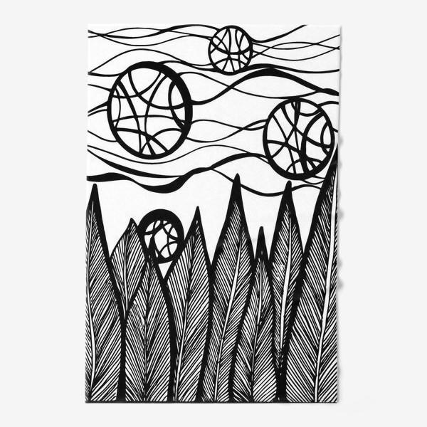 Полотенце «Космический лес»