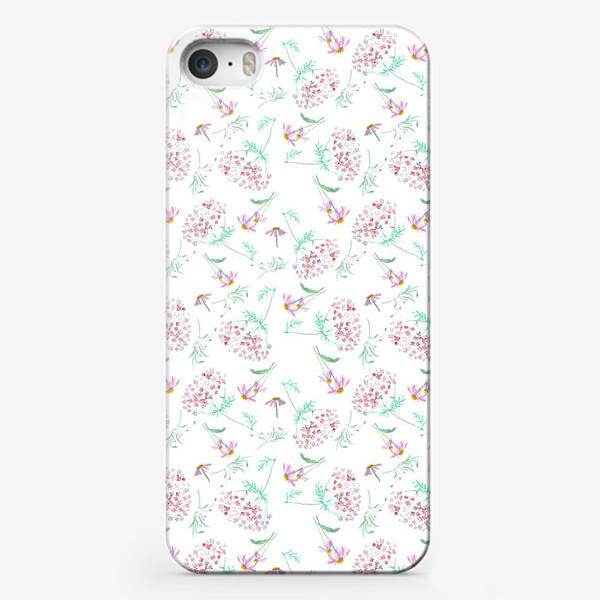 Чехол iPhone «Цветы с моего сада»
