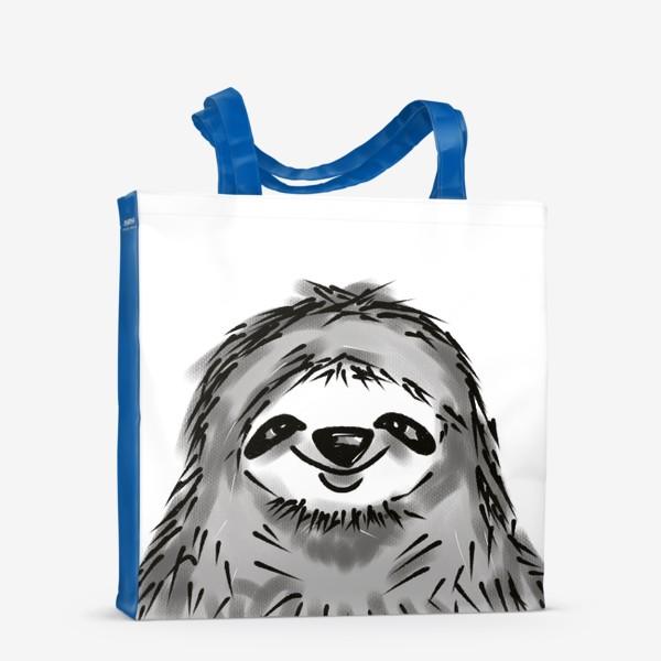 Сумка-шоппер «Ленивец »