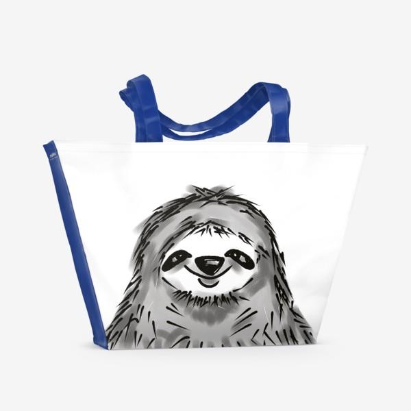 Пляжная сумка «Ленивец »
