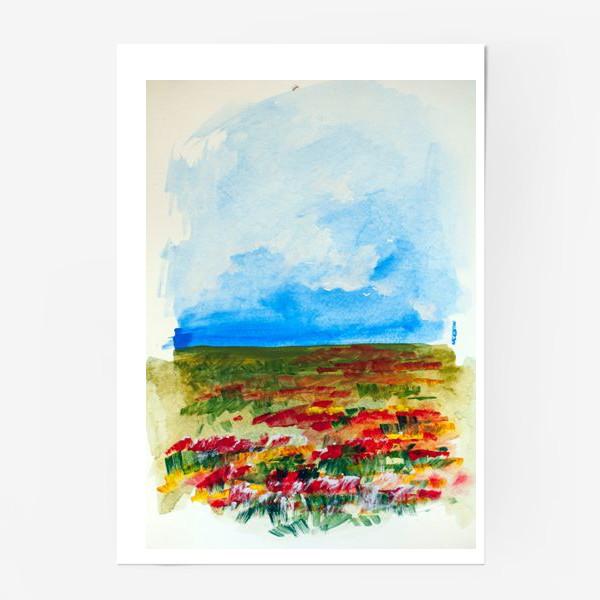 Постер «Маковое поле»