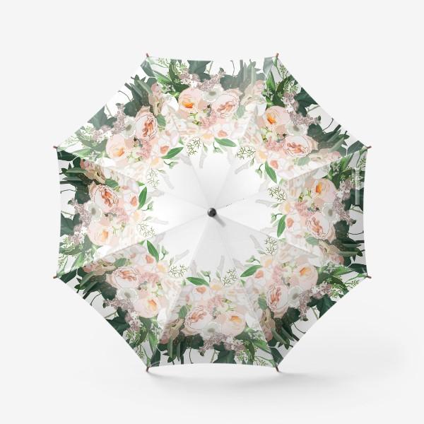 Зонт «Букет невесты, вектор»
