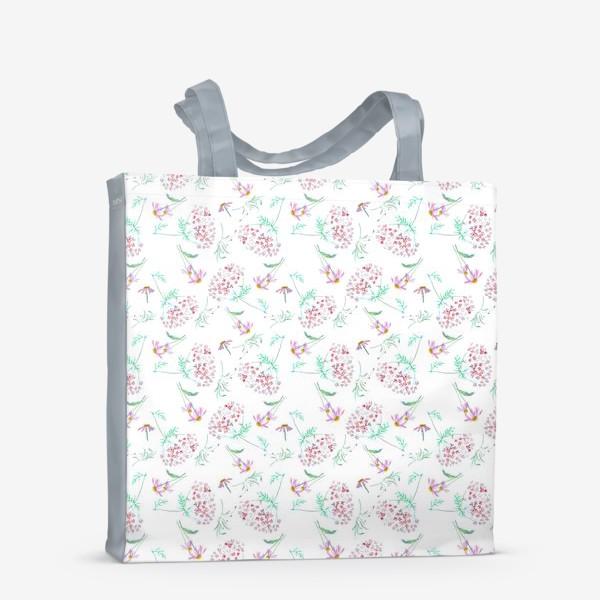 Сумка-шоппер «Цветы с моего сада»