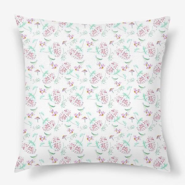 Подушка «Цветы с моего сада»