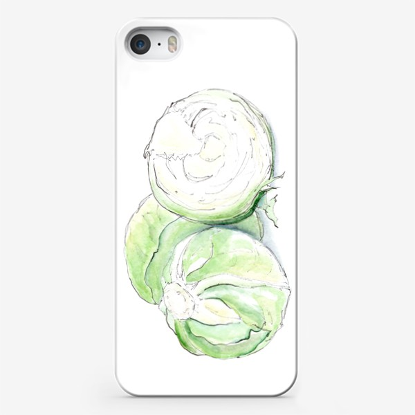 Чехол iPhone «Капуста. Неожиданно хрустящий.»