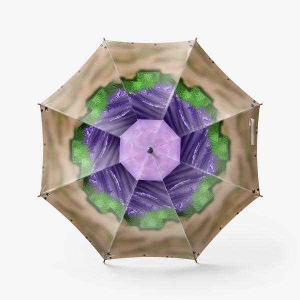 Зонт «Лавандовое поле »