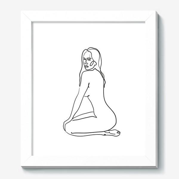 Картина «обнаженная одной линией»