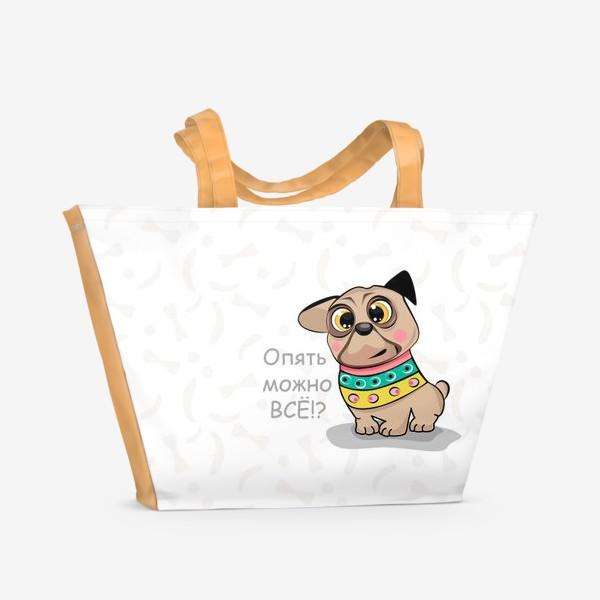 Пляжная сумка «Опять можно всё!?»