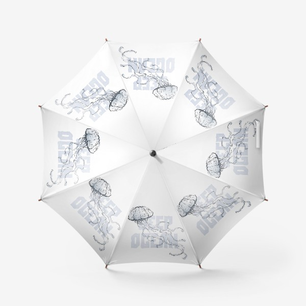 Зонт «Медуза. Глубокий океан»