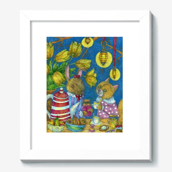Картина «Весеннее чаепитие»