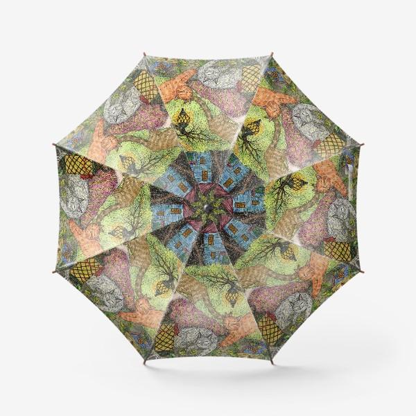 Зонт «Прекрасная осенняя сказка»