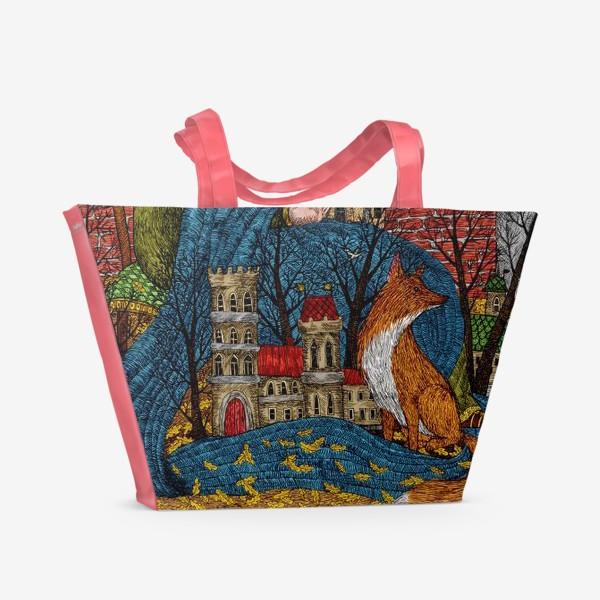 Пляжная сумка «Сказочная история»